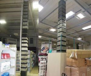 miglioramento sismico supermercato Coop in Occhiobello