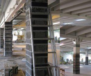 miglioramento sismico supermercato Coop in Rosignano Solvay