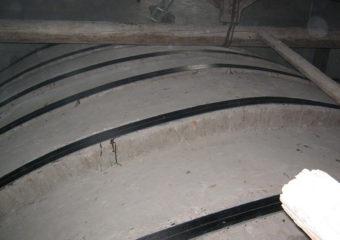 Rinforzo strutturale di una volta a botte ed una a calotta site all'interno della Chiesa di Ossanesga, in Valbrembo (BG) mediante CARBOSTRU®.