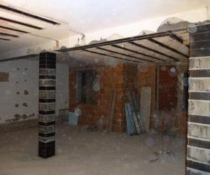 Adeguaminto sismico strutture primo impalcato abitazione civile
