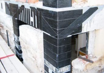 """Consolidamento edificio classificato """"E"""" a seguito del sisma che il 06/04/2009 ha colpito l'Aquila mediante le tecnologie CARBOSTRU®."""