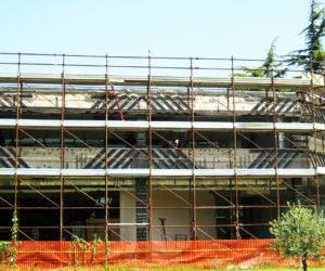 adeguamento sismico università salerno frp carbonio