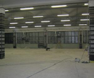 Miglioramento sismico edificio industriale Goldoni Vainer e Dondi SN