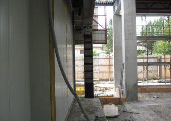 Raggiungimento del 60% del livello di Adeguamento sismico mediante il sistema CARBOSTRU® C-System M+N+ per i pilastri al piano terra e piano primo del punto vendita COOP di Cento (FE).