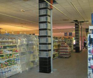 rinforzo pilastri fibra carbonio centro commerciale medici bologna