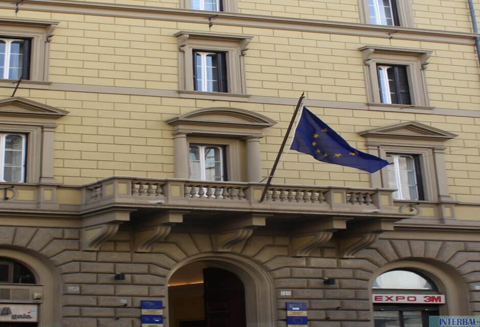 RINFORZO STRUTTURALE VOLTE PRESSO IL PARLAMENTO EUROPEO