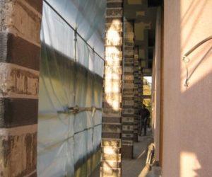 rinforzo taglio adeguamento statico pilastri frp carbonio