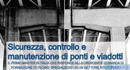 Firenze – Master di II livello sicurezza, controllo e manutenzione di ponti e viadotti
