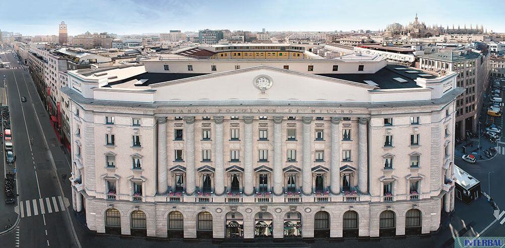 Consolidamento statico solaio Banco BPM - Milano