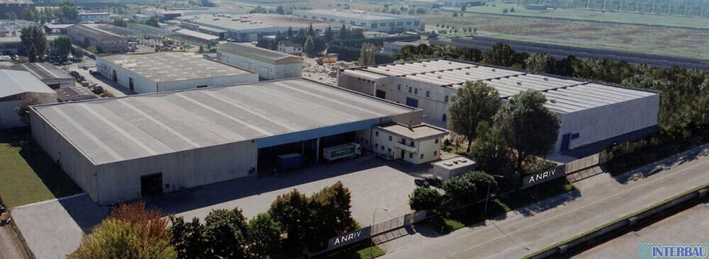 Miglioramento sismico edificio industriale ANRIV - Ferrara (FE)