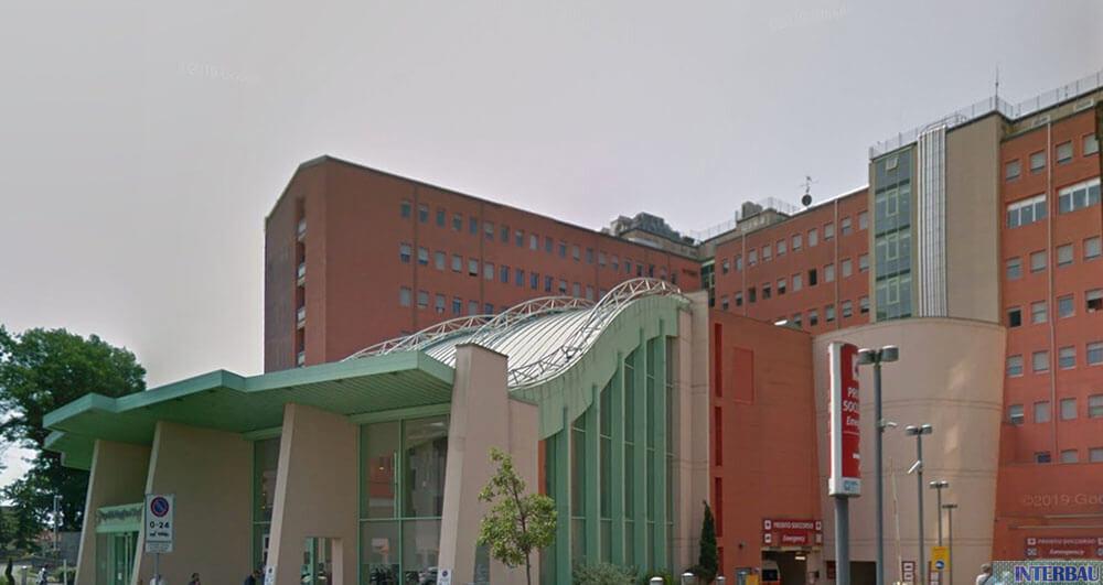 Rinforzo pilastri Ospedale di Lodi - Lodi (LO)